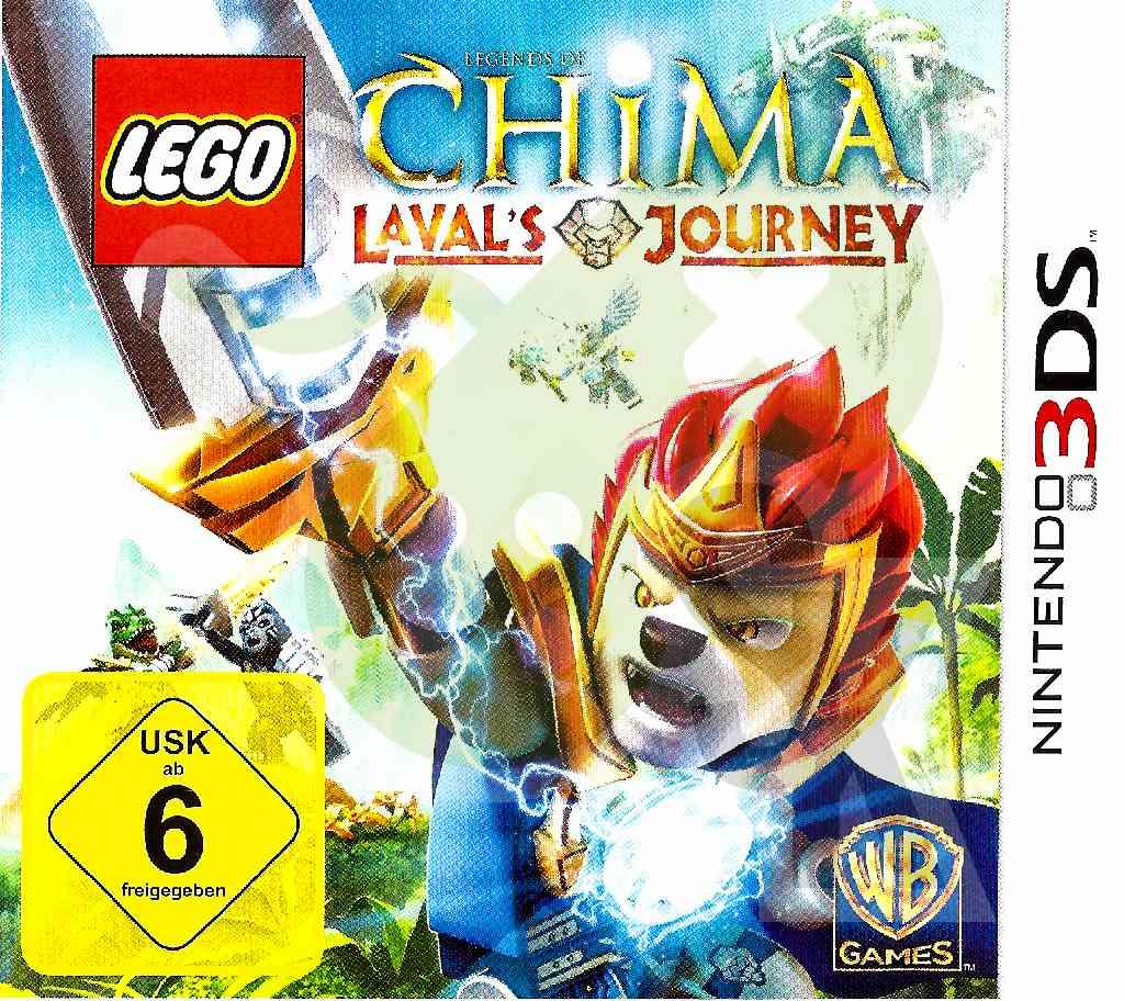 Lego Chima Lavals Journey Spiele Und Konsolen