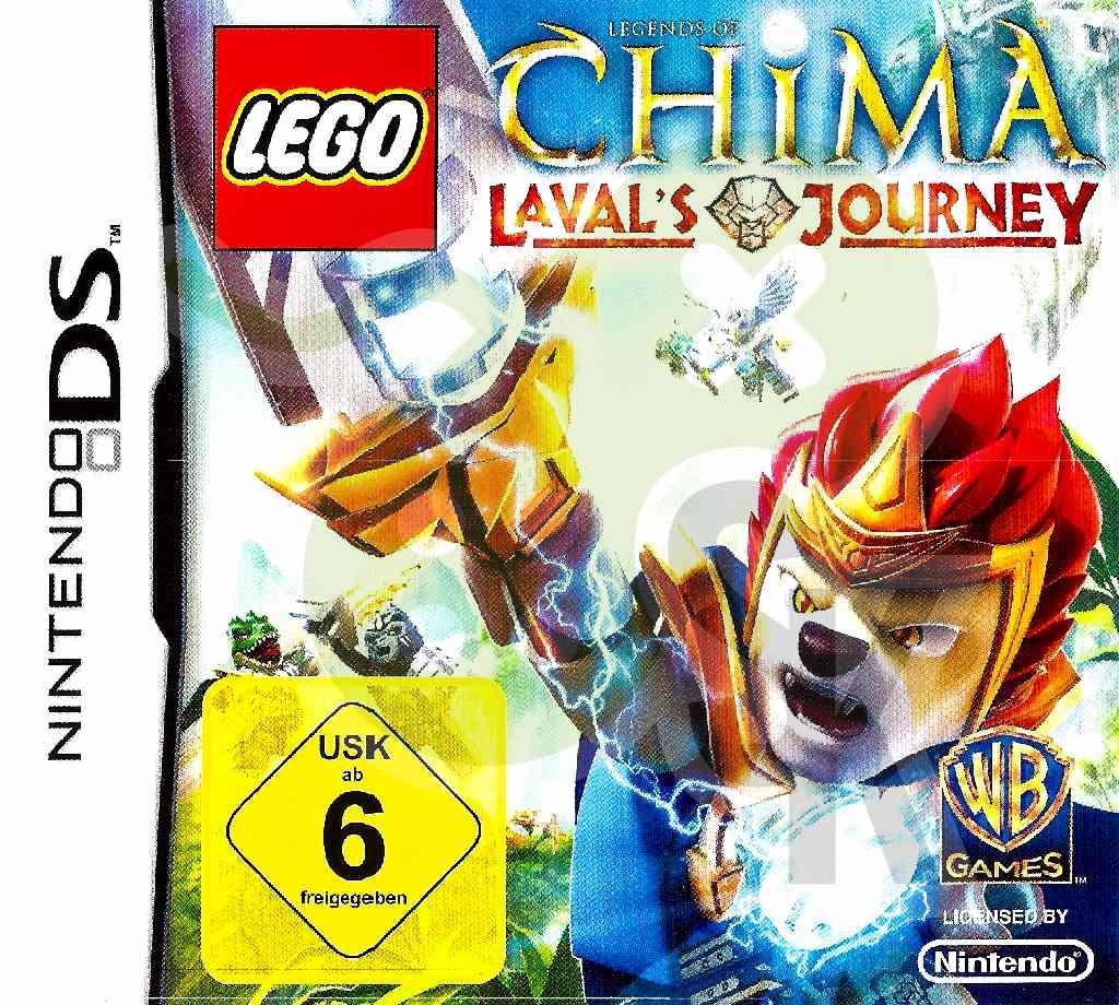 Lego Legends Of Chima Lavals Journey Spiele Und Konsolen