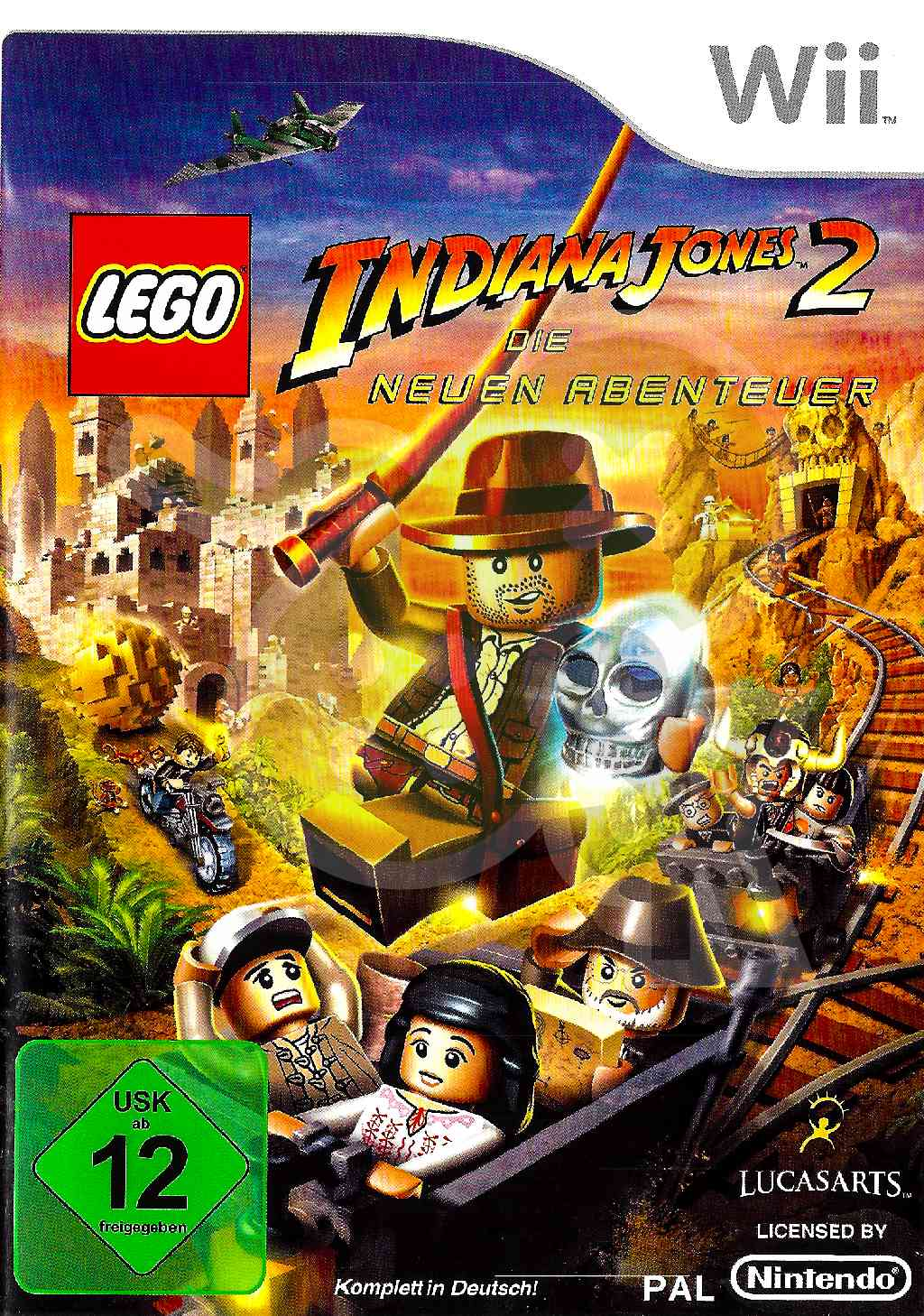 Lego Indiana Jones 2 Die Neuen Abenteuer Komplettlösung