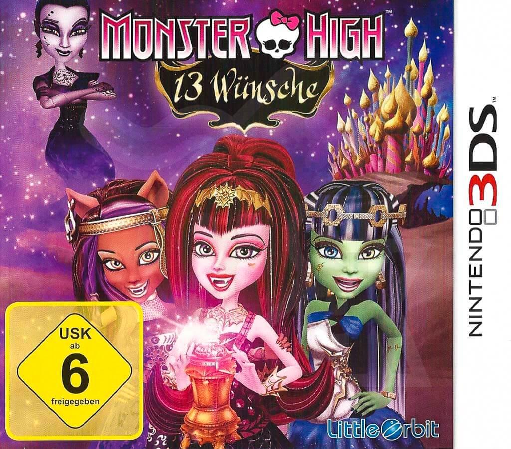 Monster High 13 Wünsche Ds Spiel Lösung