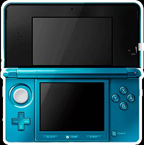 Nintendo 3DS Konsole blau