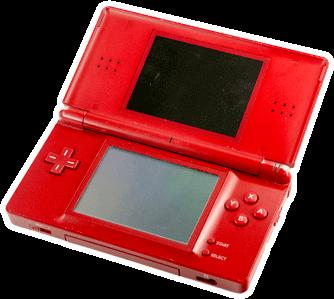 Nintendo DS Lite Konsole rot