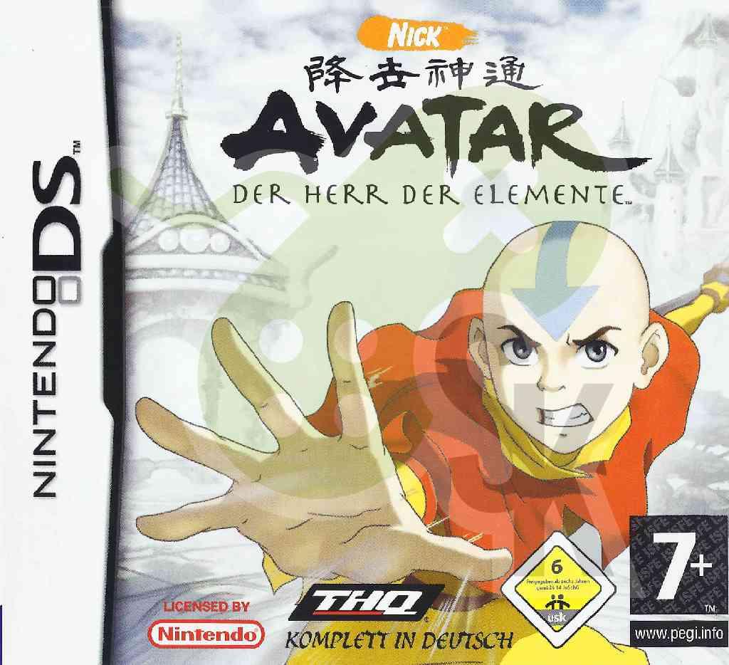 Avatar Herr Der Elemente Spiel